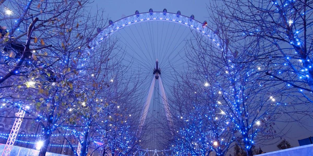 England Christmas.England Tours London Eye Christmas L Ideal Magazine