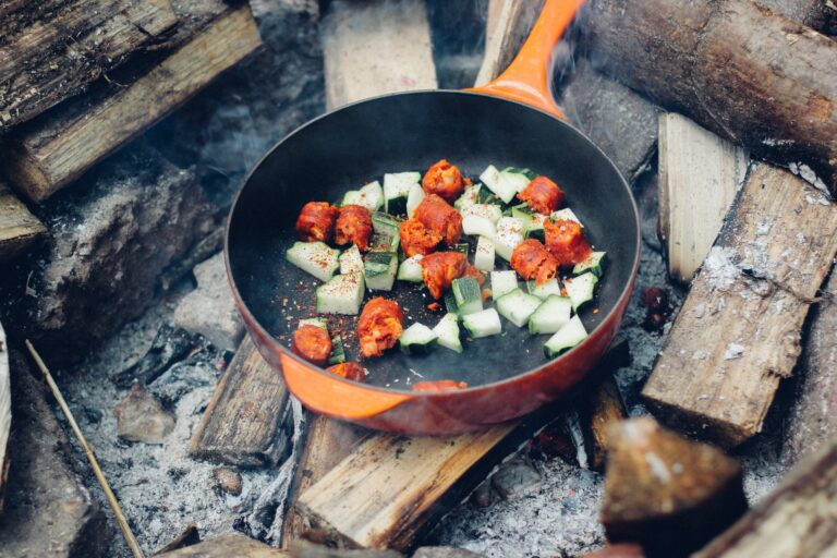 PLANNING A CAMPING TRIP: 4 HACKS FOR HEALTHY & DELICIOUS CAMPFIRE COOKING